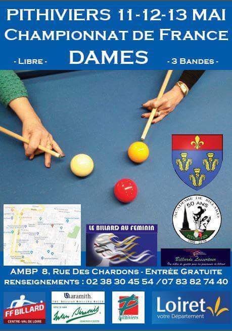 FFB 2017 2018 Finale France 3 Bandes Pithiviers Affiche