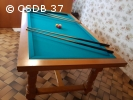 Billard table René Pierre